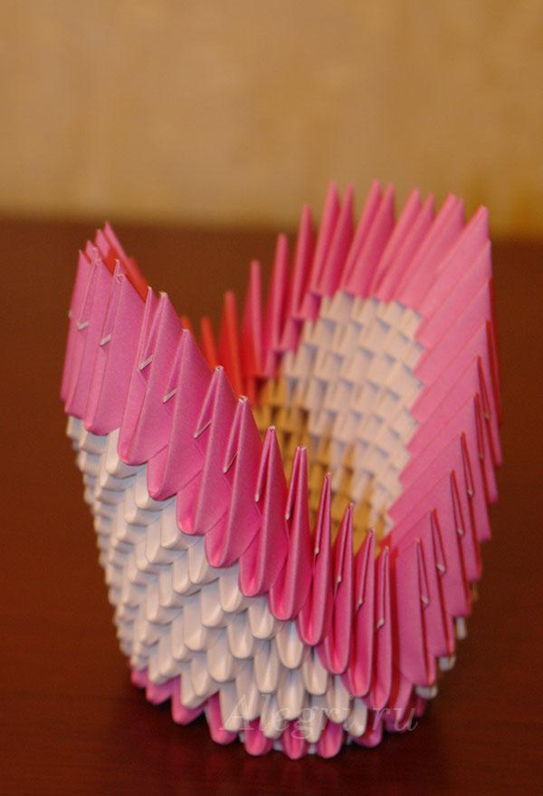 Как сделать подставку для телефона своими руками из бумаги оригами 60