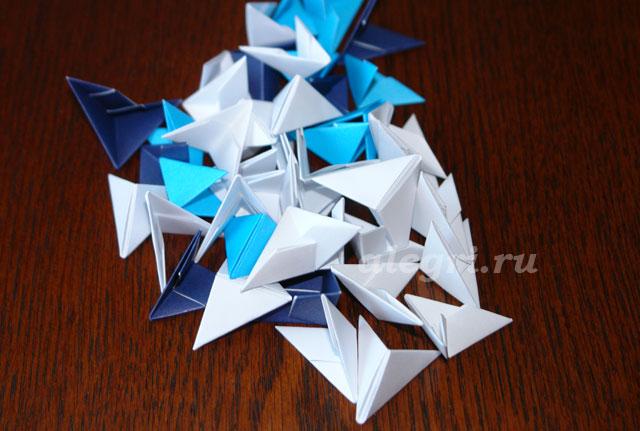 Модульное оригами. Шкатулка.