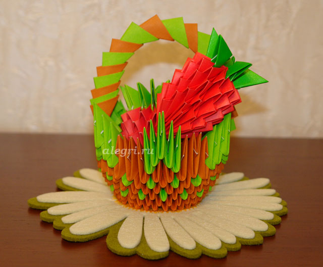 Подарки для мамы своими руками оригами