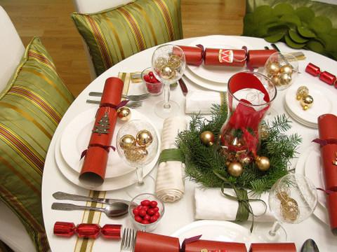 Сервировка стола на новый год своими руками