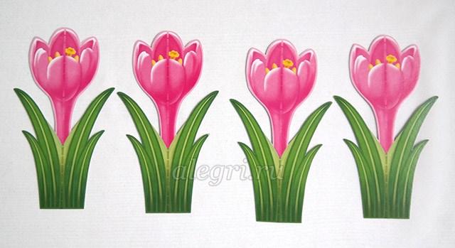Как весенние цветы своими руками фото 456