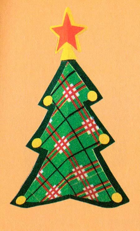 Как делать новогодние ёлки своими руками