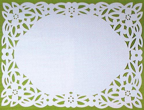 Красивые рамки из бумаги