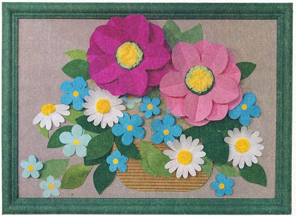 Цветы букет своими руками из бумаги