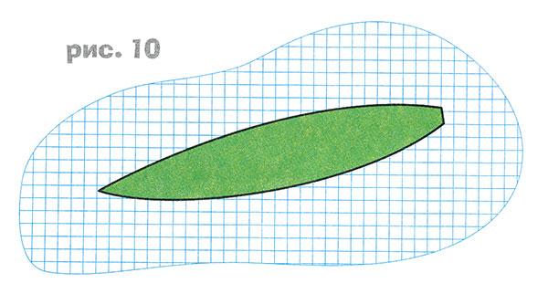 20 из зелёной упаковочной бумаги сетки