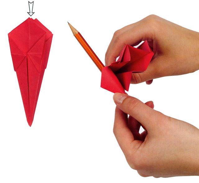 Цветок Лилия.  Мастер класс изготовления лилии из бумаги.