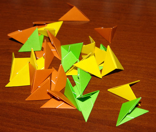 модульного оригами.