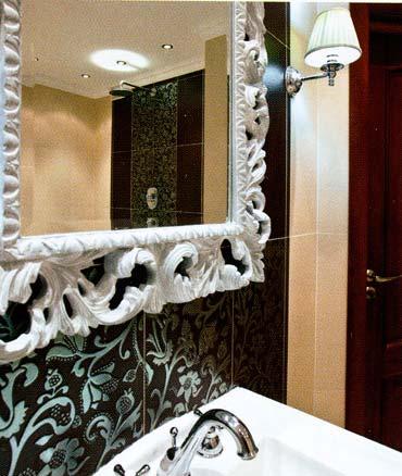 Декор ванной комнаты идеи