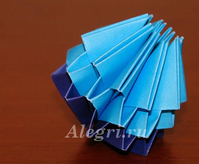 Возьмите 10 синих модулей для