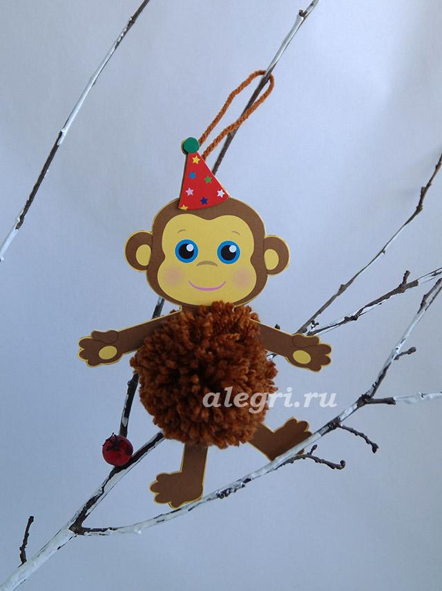 Фото как сделать обезьянку своими руками