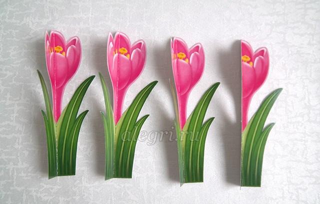 Как весенние цветы своими руками фото 90