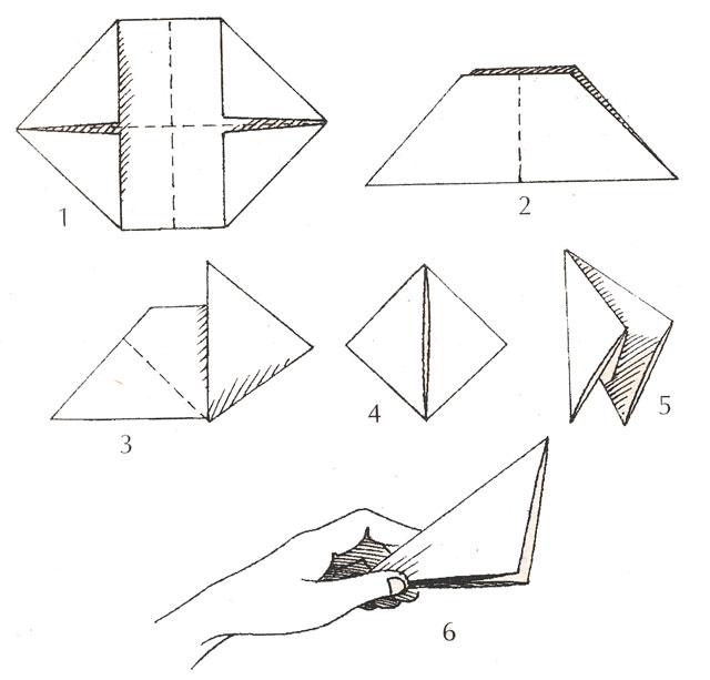 Как из бумаги сделать хлопушку двойную 163