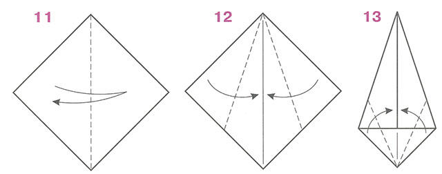 Как сделать подснежник из бумаги поэтапно