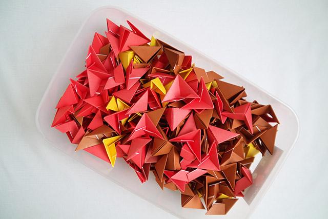 поделки из модулей оригами пошаговая инструкция для начинающих - фото 9
