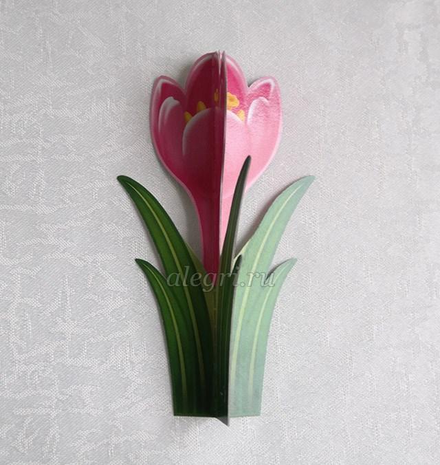 Как весенние цветы своими руками фото 262