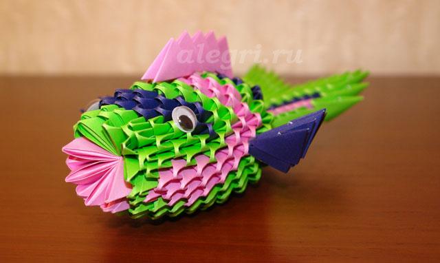 морскую красавицу - рыбку.