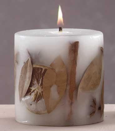 Декоративные свечи в домашних условиях