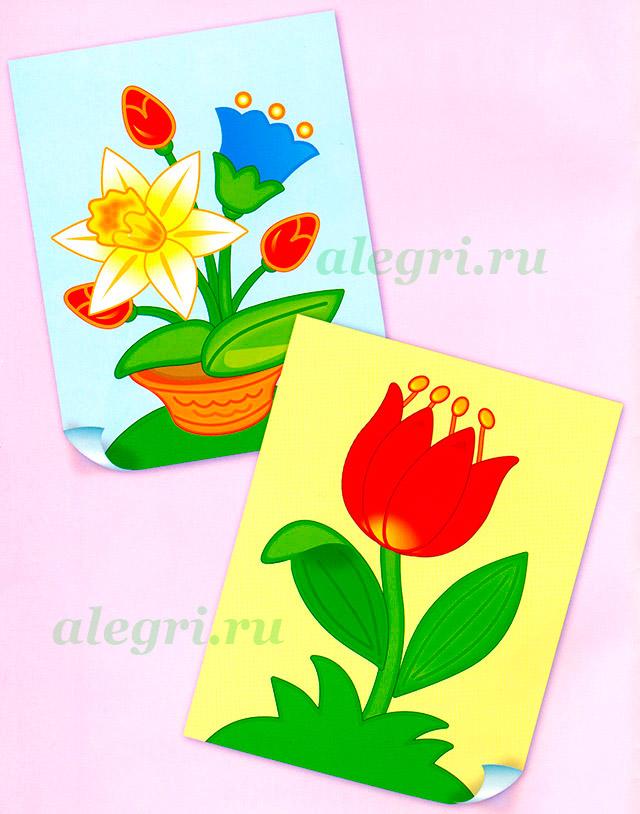 Картинки для дошкольников к 8 марта