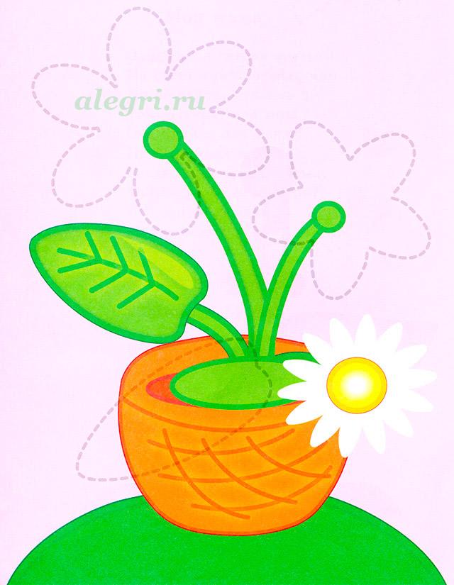 Комнатное растение «Каллы» своими руками для детей 5-7 лет. Мастер-класс 51