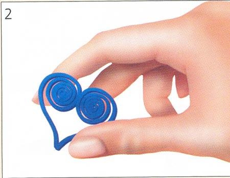 Буква в из бумаги своими руками схемы