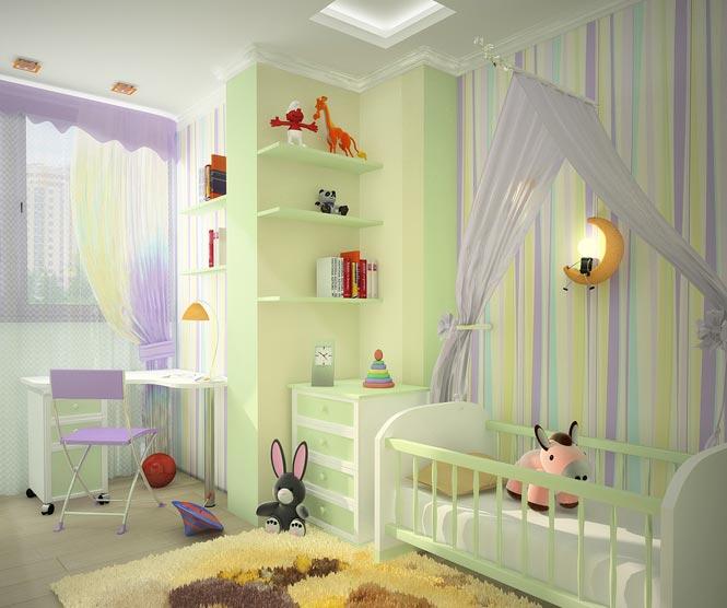 Обои для детской комнаты мальчиков дизайн фото