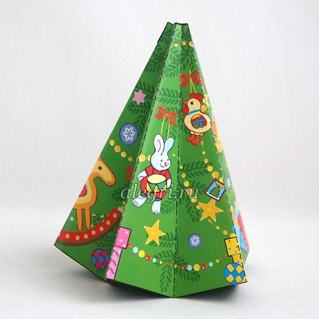Новогодняя ёлка мастер класс из бумаги