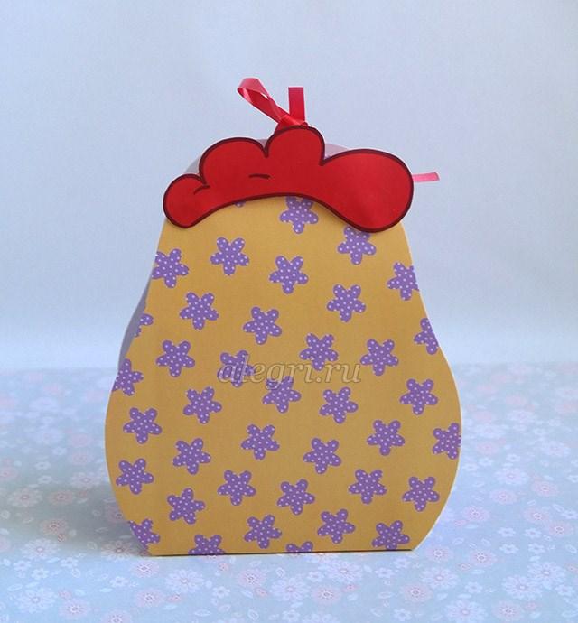Новогодняя упаковка петух своими руками фото 893