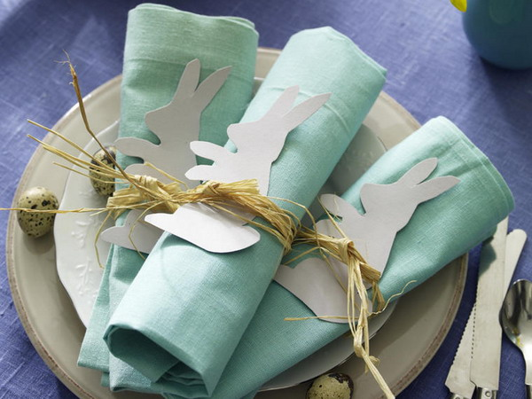 Украшение стола салфетками своими руками