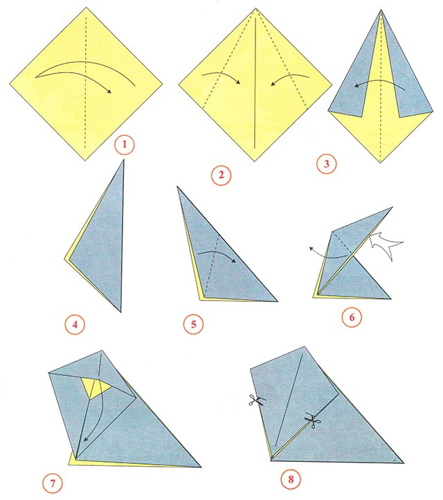 types of origami paper Catch and throw paper planes with one another around the world.