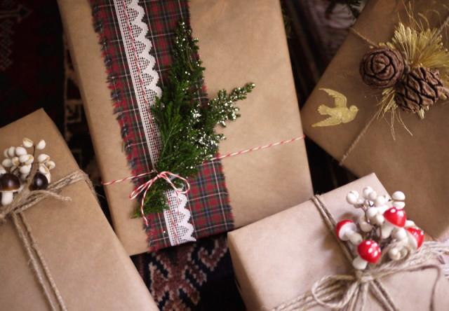 Упаковка подарка своими руками к новому году