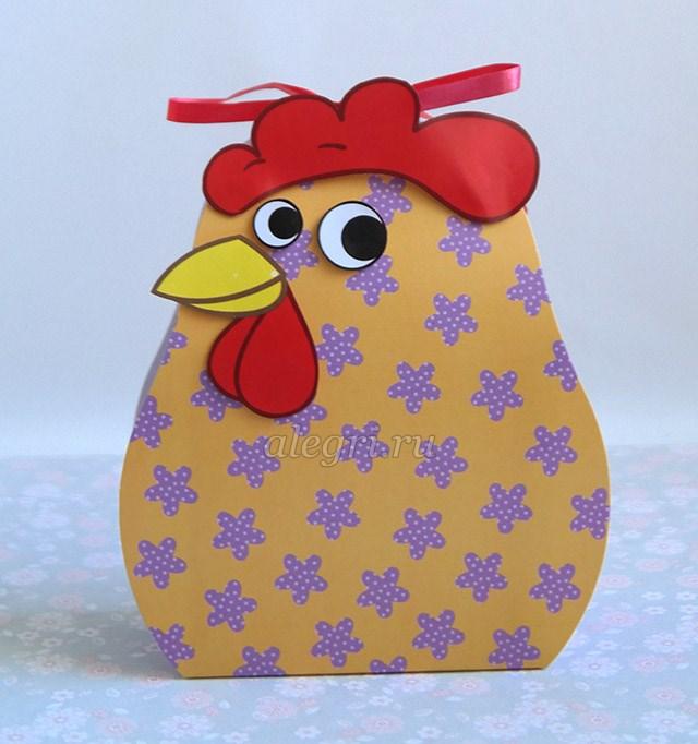 Новогодняя упаковка петух своими руками фото 411