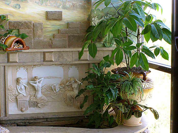 Как создать зимний сад на балконе или лоджии.