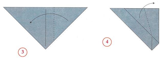 Как сделать оригами мышку фото 482