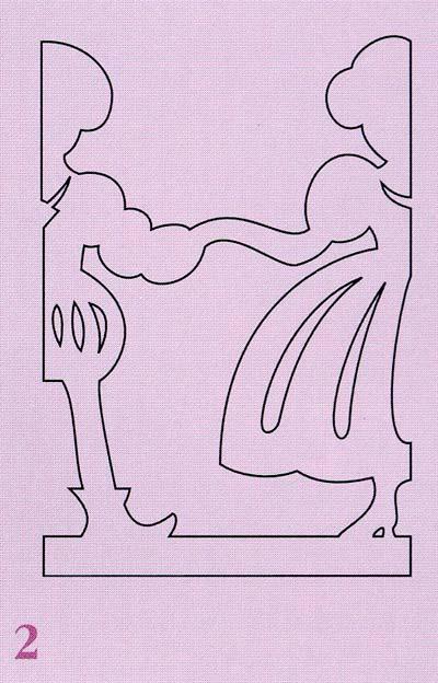 Объемные новогодние фигурки из бумаги своими руками схемы