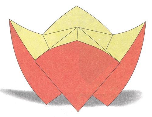 Конфетницы из бумаги своими руками