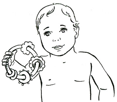 Чем заниматься с ребенком в 3 месяца