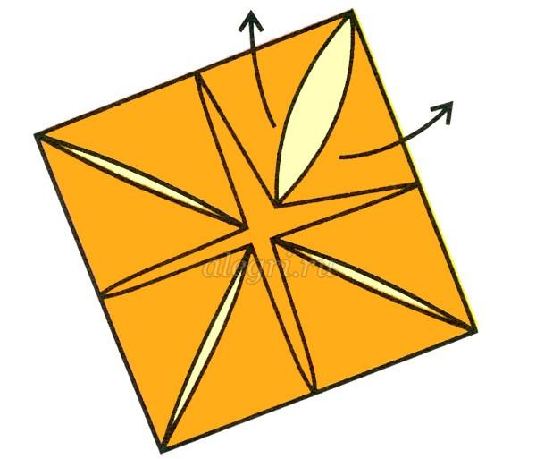 Модульное оригами цыплёнок схема фото 619