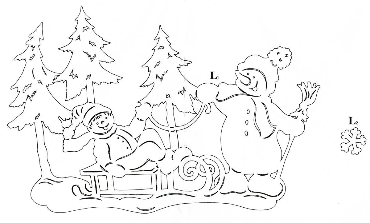 Украшения на новый год своими руками снежинки