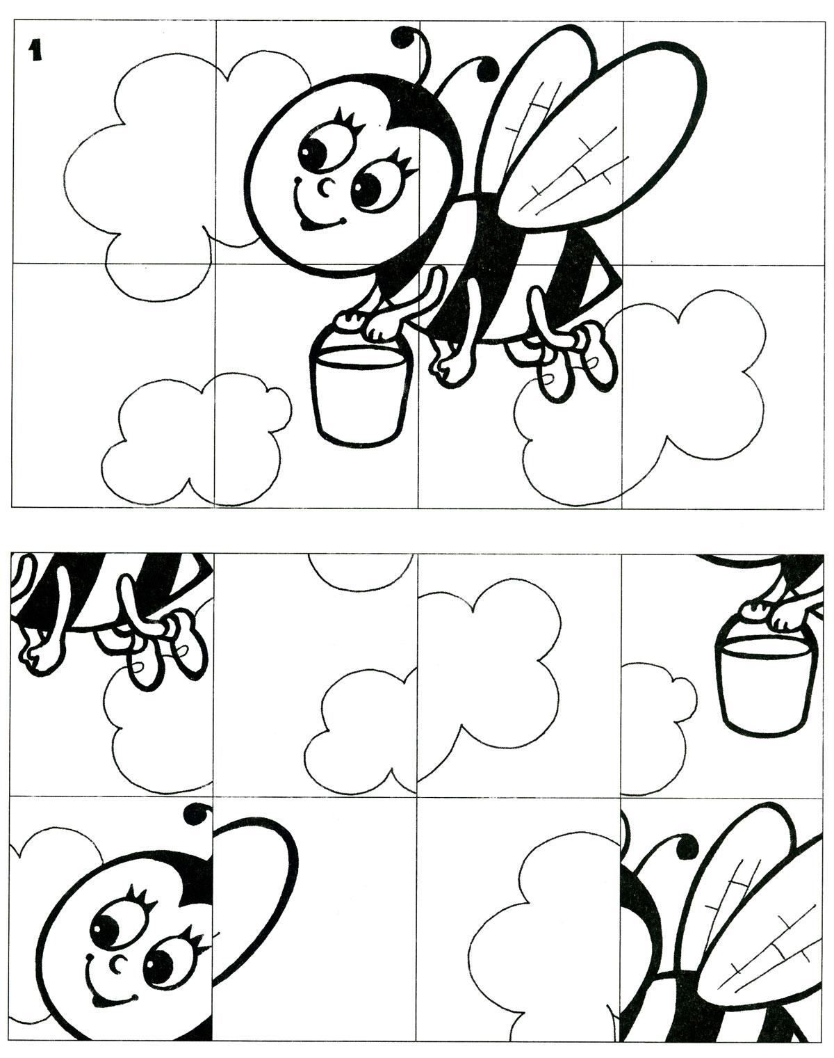 Раскраски с заданиями для детей 5 лет