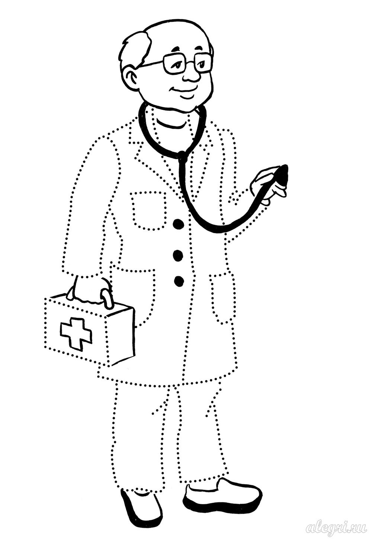Раскраски врача