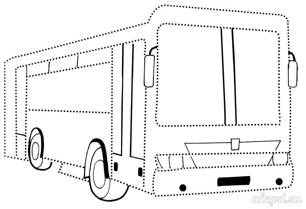 Раскраски трамваев и троллейбусов