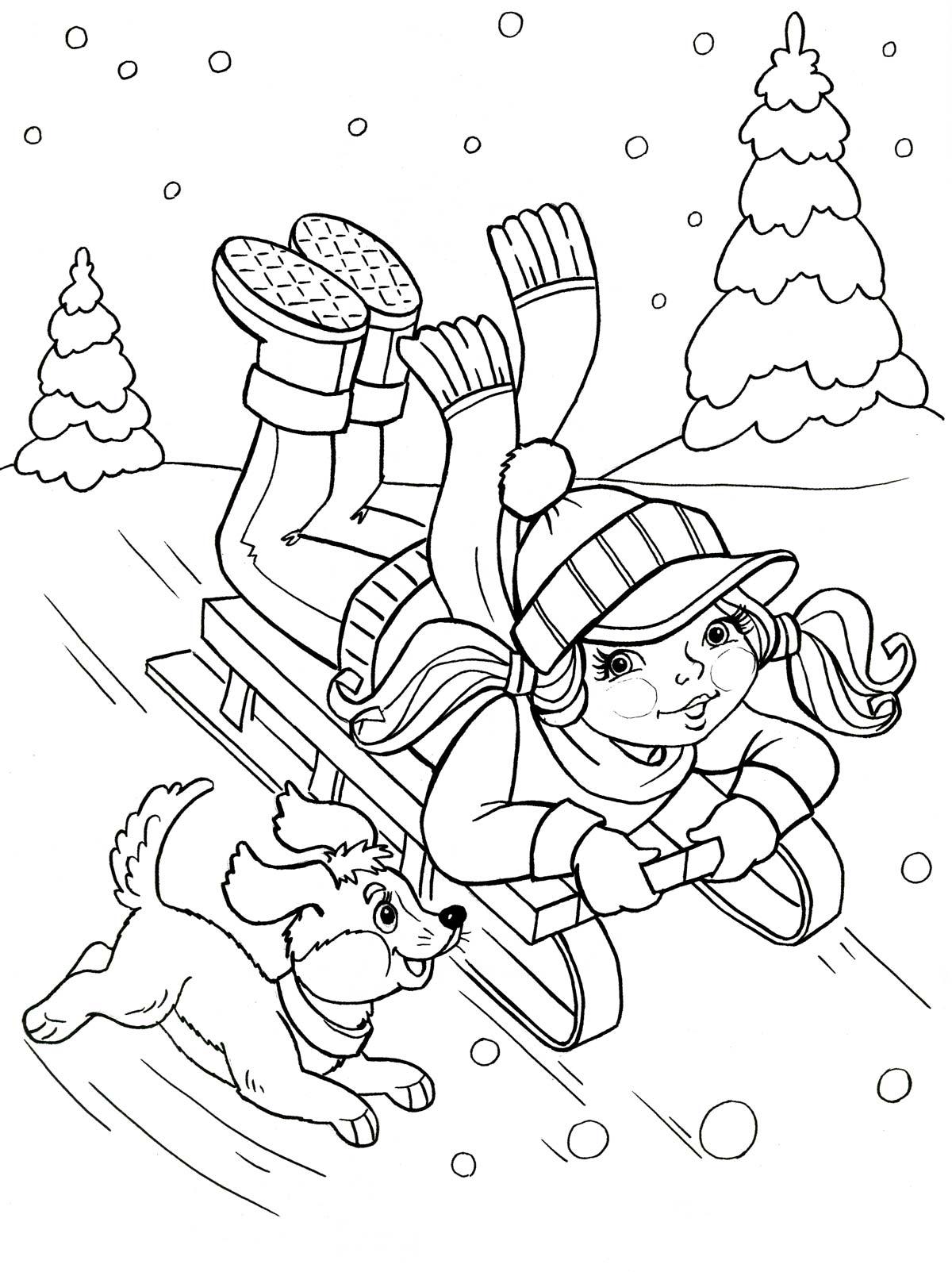 Раскраски для детей бесплатно  Распечатать картинки для детей