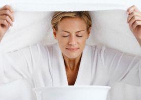 Паровые ванны для нормальной кожи лица