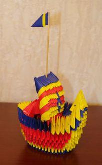 Модульное оригами. Корабль Мастер-класс