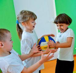 Подвижные игры детей первого