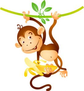 Как нарисовать обезьяну карандашом поэтапно для детей