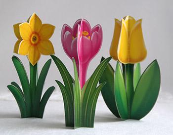 Весенние цветы из бумаги своими руками для детей 5-8 лет. Мастер-класс с пошаговыми фото