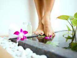 Народные косметические средства для ухода за кожей ног