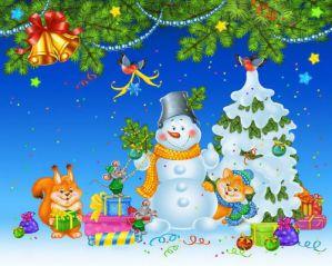 Новогодние стихи для детей 6-7 лет в детском саду
