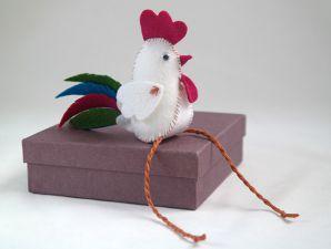 Петушок своими руками из фетра выкройки